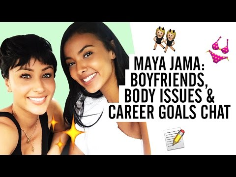 BOYFRIENDS, BODY ISSUES  & CAREER GOALS | GIRLY CHAT WITH MAYA JAMA