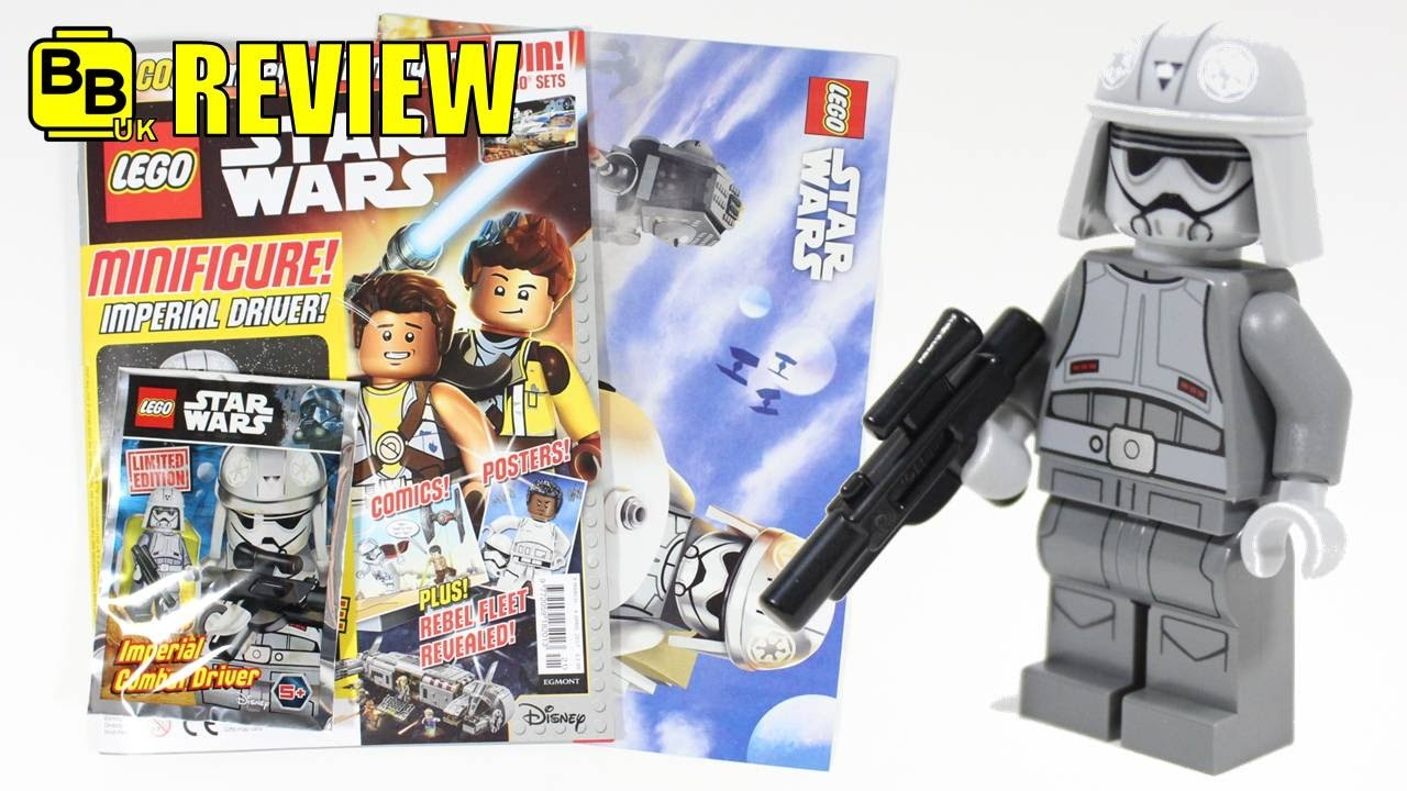 LEGO STAR WARS 2017 MARCH MAGAZINE IMPERIAL MINIFIGURE ...