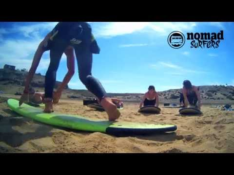 NOMAD SURFERS: CORRALEJO BEACH SURF CAMP IN Canary Islands