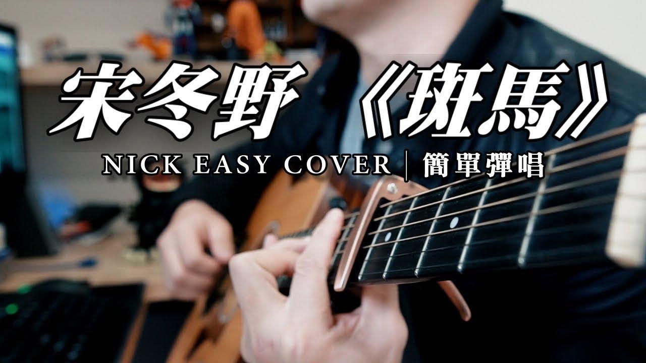 宋冬野《斑馬》 吉他簡單彈唱 Easy Acoustic Cover 吉他譜 - YouTube