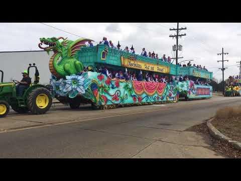 Mardi Gras Floats 2018 King Arthur