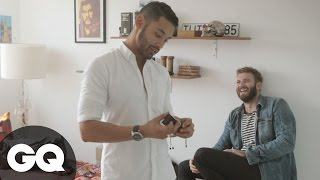 Routine Visit Episode 3: Omar's Signature Shoe Game | How-To | Grooming | GQ