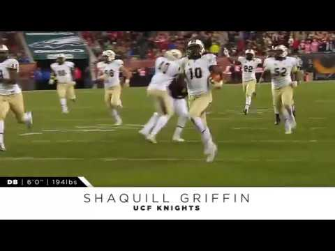 UCF/Seattle Seahawks CB Shaquill Griffin College Highlights