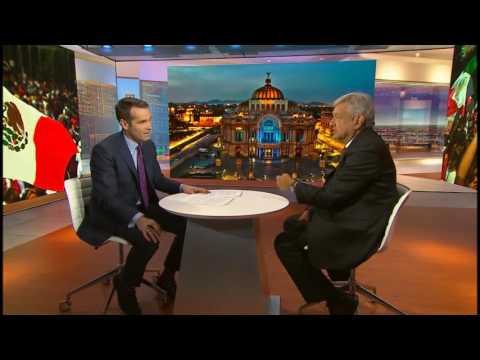 Entrevista AMLO con la agencia Bloomberg