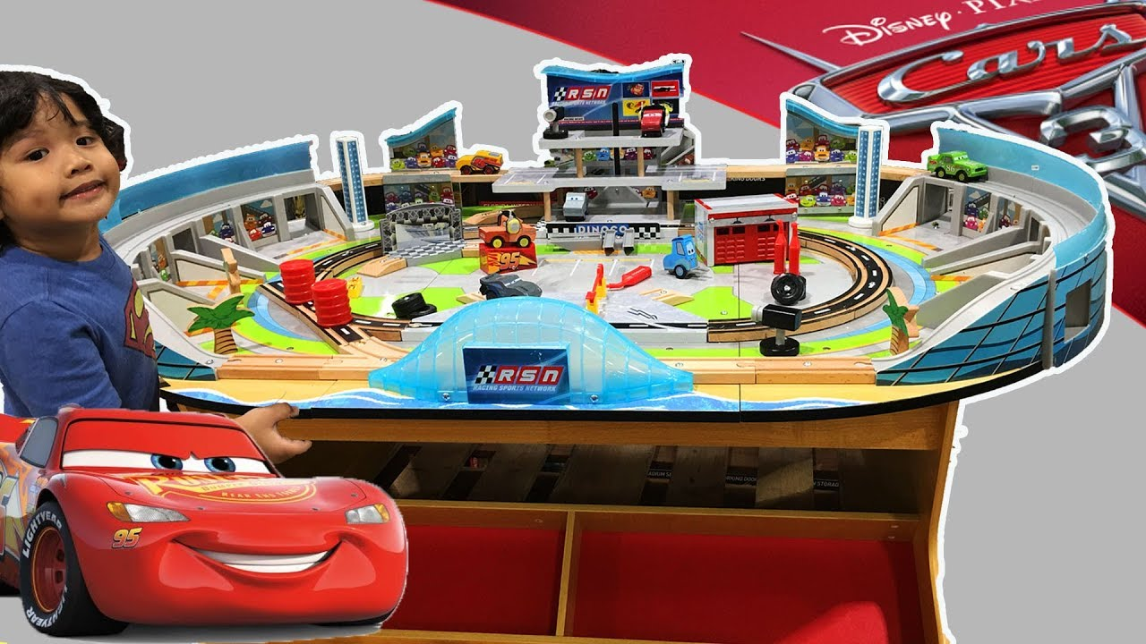 New Cars 3 Wooden Trackset Play Table Kidkraft Florida