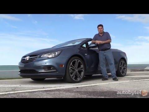 2016 Buick Cascada Convertible Test Drive Video Review