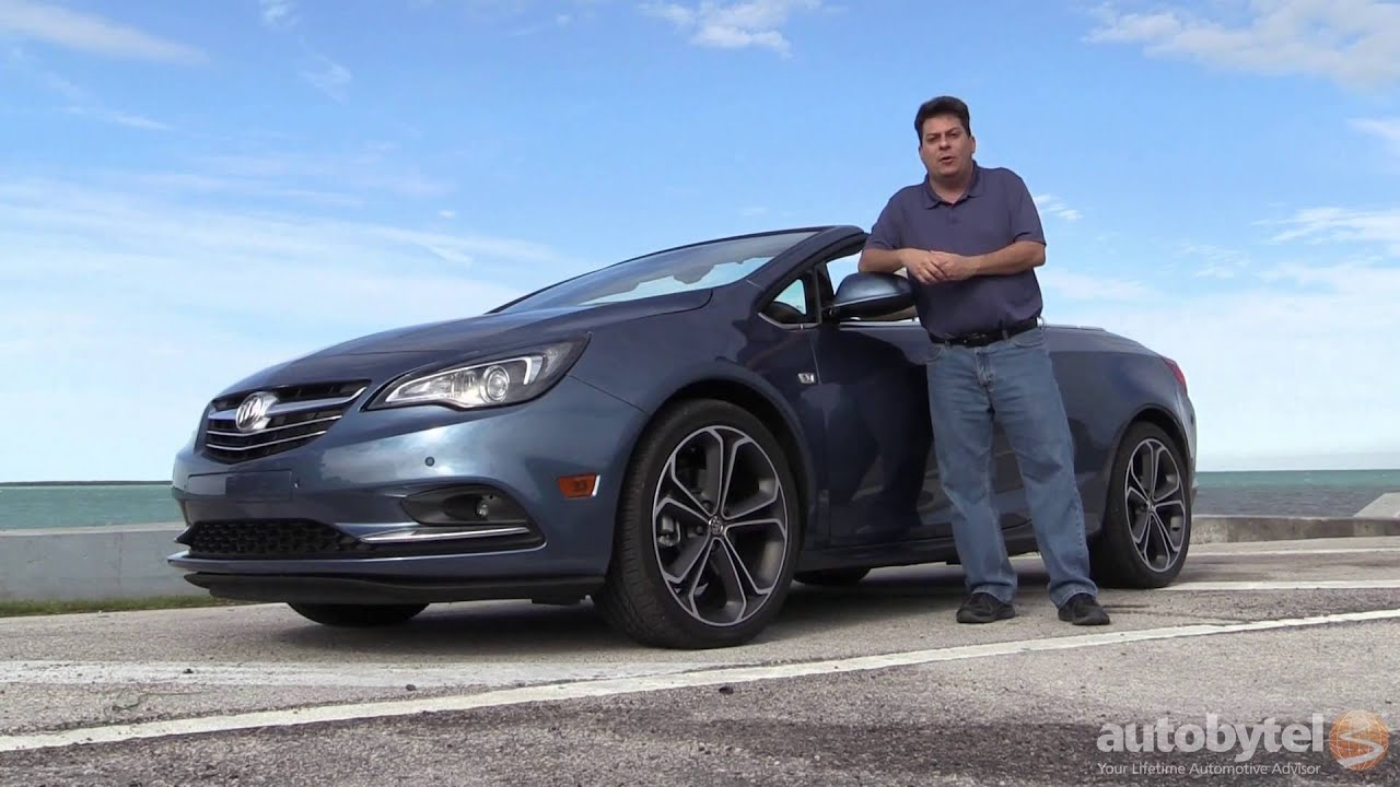 2016 Buick Cascada Convertible Test Drive Video Review