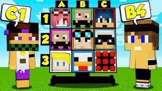 BATTAGLIA NAVALE degli YOUTUBER FAMOSI - Minecraft ITA