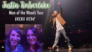 FRONT ROW at the Justin Timberlake Concert- Man of the Woods Tour, Arizona