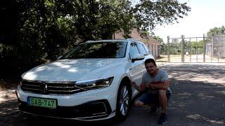 Volkswagen Passat Variant GTE 2021 tesztvezetés Kelemen Lászlóval