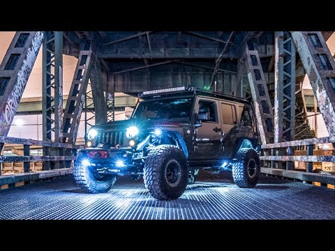 How To: Install LUX Lighting Systems LED Rock lights on Jeep Wrangler