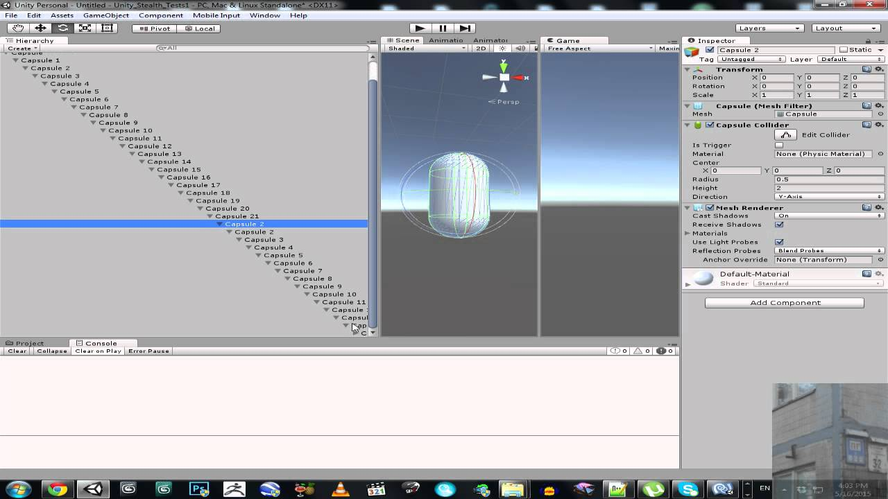 Unity 3D / 5 - Rope Tutorial