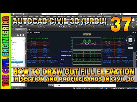 how to draw road cross section in atutocad - Myhiton
