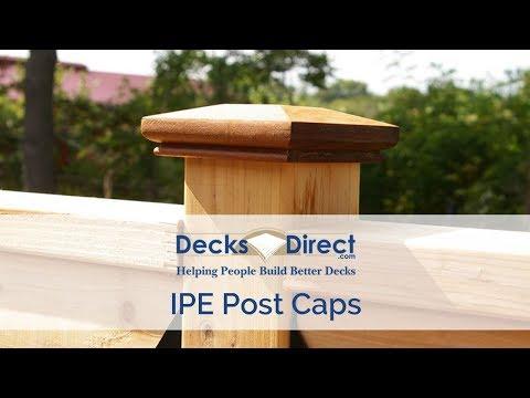 IPE Post Caps