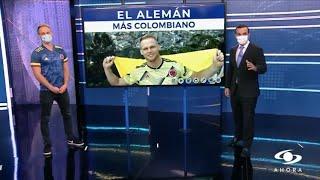 Entrevista Dominic Fabian Wolf (Dominic Colombia) con Noticias Caracol En Vivo con Juan Diego Alvira