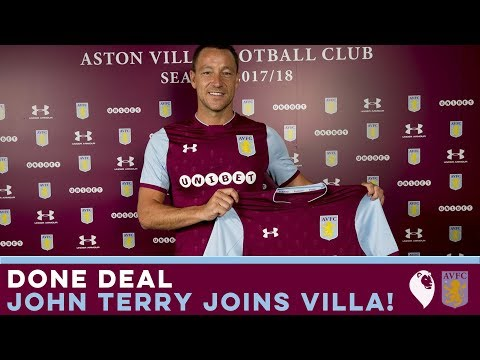 DONE DEAL | JOHN TERRY SIGNS FOR ASTON VILLA!