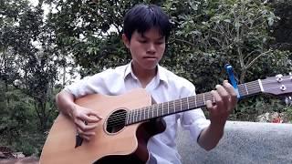Trăm năm không quên - 不顾一切爱你  guitar solo fingerstyle version Quang Hà