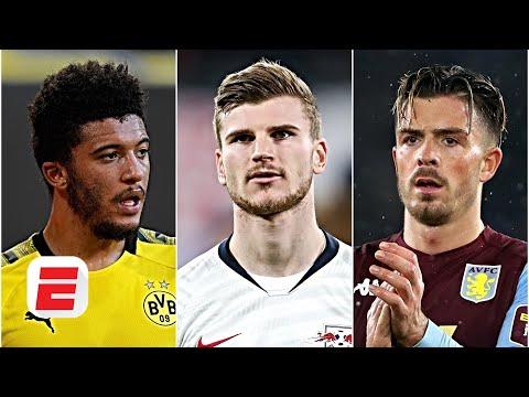 Man United's Top 3 Transfer Targets: Can Solskjaer Lure Sancho, Werner AND Grealish? | ESPN FC