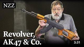 Revolver, AK47 & Co. - Diese Waffen unterscheidet die Schweiz heute