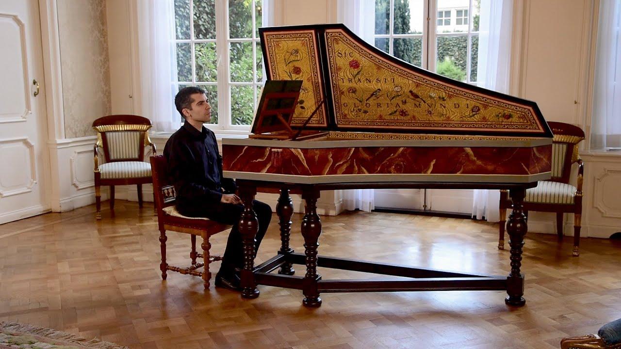 Flores de música. Diego Ares en la Residencia de España en La Haya