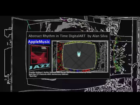 youtube and AppleMusic jazz With Abstract Rhythm in Time DigitalART  by Alan silva