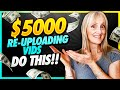 - Earn $5000 Per Month Re-Uploading Content NOT CREATIVE COMMONS