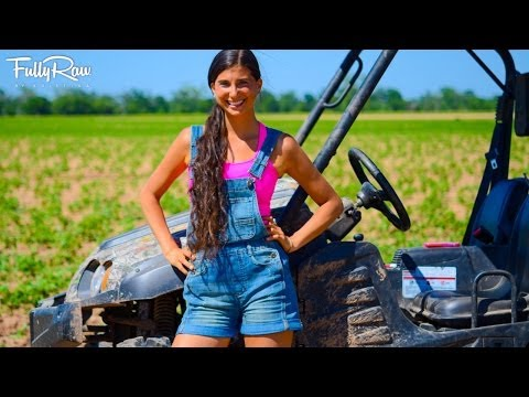 A Day in the Farm Life of FullyRaw Kristina!