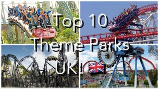 Amusement Parks In England