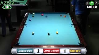 Jayson Shaw  vs  Jarrod Clowery