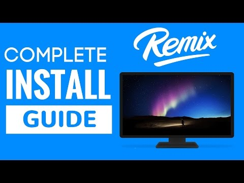 How To Install Remix OS On USB/HDD/SSD Using PC Or Mac