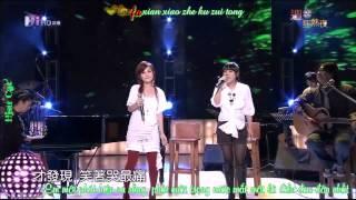 [Vietsub+Pinyin]Thỏa mãn 知足 - Lương Tịnh Như ft Đinh Đang (Cover) Original by Mayday Mp3