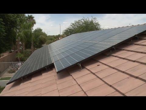 Solar power keeps energy bills down