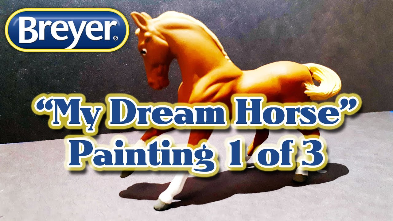 Breyer Stablemates Horsecrazy Watercolor Painting