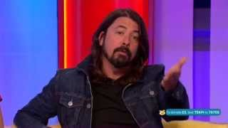 Dave Grohl Foo Fighters BBC The One Show 2014
