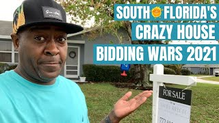 SOUTH FLORIDA'S CRAZY HOUSE BIDDING WARS FOR 2021