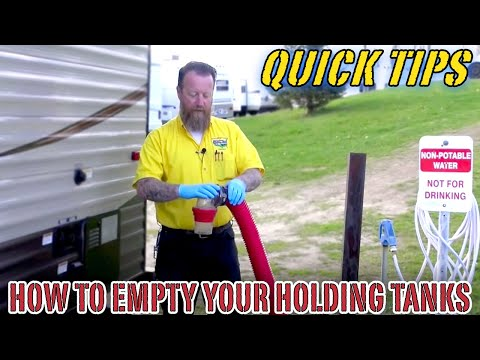 How to Empty Your RV Holding Tanks   Pete's RV Quick Tips