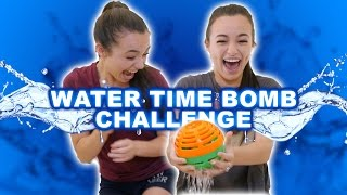 WATER TIME BOMB CHALLENGE - Merrell Twins