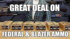 DAILY DEAL ALERT: Federal And Blazer Ammo Rebate!