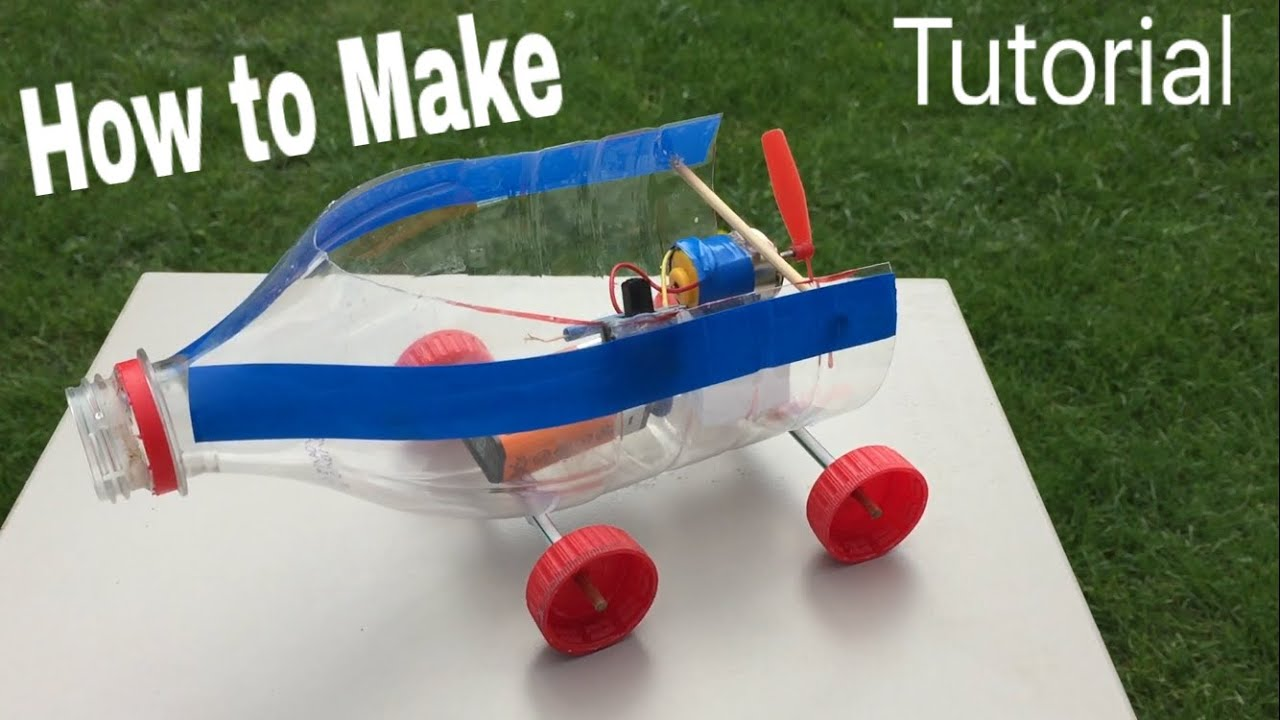 how to make a car electric car powered and simple homemade toy tutorial youtube. Black Bedroom Furniture Sets. Home Design Ideas