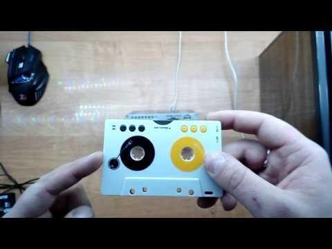 Мини усилитель Kentiger HY502S. Mp3 Кассета авто адаптер. Кассеты адаптеры переходники.