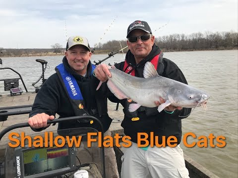Catching Blue Catfish On Shallow Flats