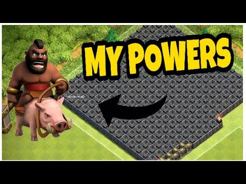 HOW MANY WALLS HOG RIDER CAN JUMP!!! | CLASH OF CLANS