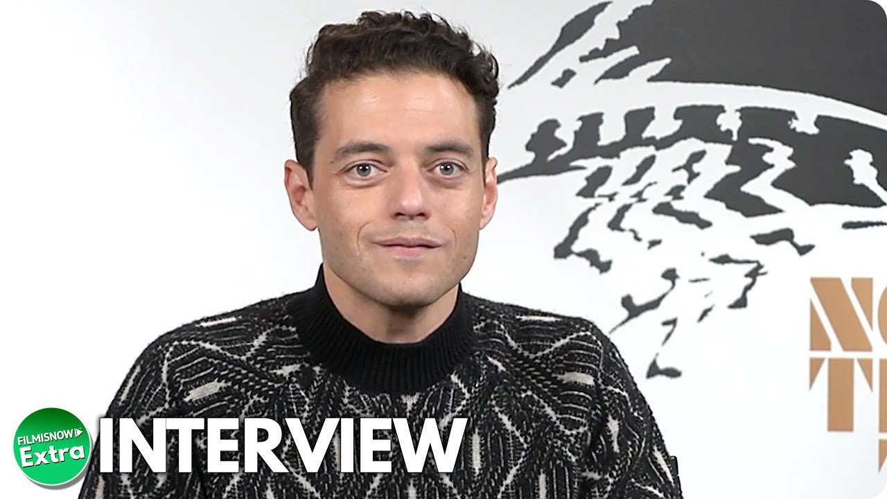NO TIME TO DIE   Rami Malek Official Interview