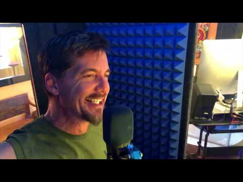Voiceover Talent DC Douglas and his Whisper Room.