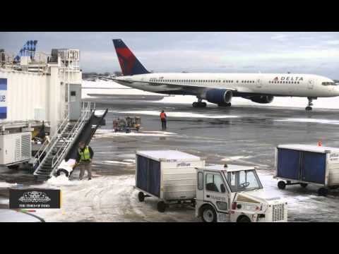 With Nowhere for Snow To Go, Airline Cancellations Spike