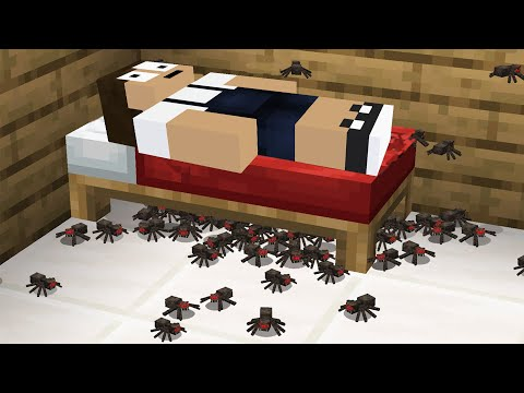 大量の小さいクモが家に侵入!?急いで駆除しろ!#1