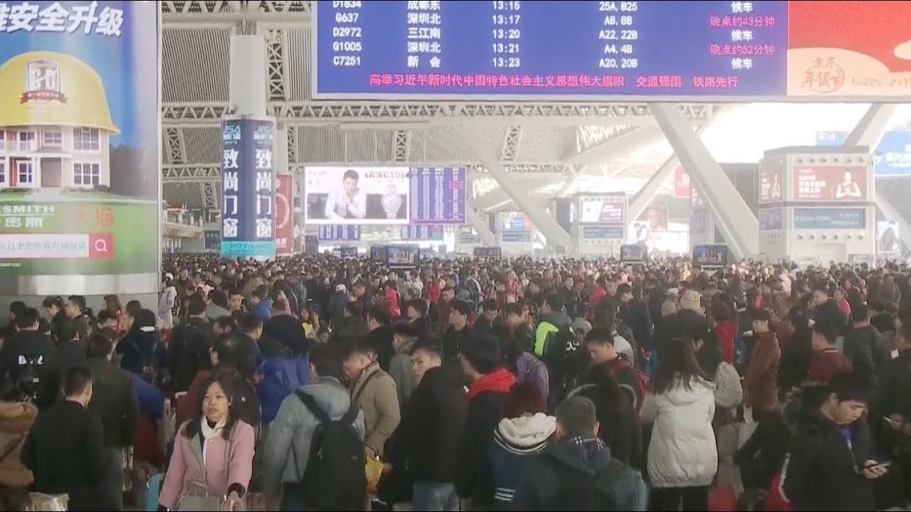 China Expected to Transfer 9 Mln Passengers by Rail on 5th Day of Spring Festival Travel Rush