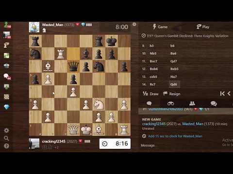 Cú Checkmate cực đỉnh hạ đo ván Chess TC của chú bé Việt Nam Elo 1300 || CHESS 2020
