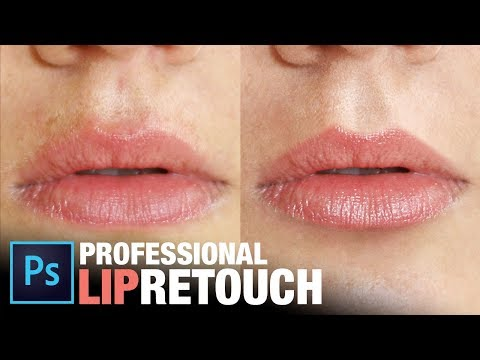 Professional Lip Retouching In Photoshop