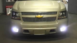 Chevrolet Tahoe III +bi-led koito+Osram ledriving fog101+DRL(В автостудии КБ АВТО (www.ksenonspb.ru) мы глобально исправили свет на автомашине ШЕВРОЛЕТ ТАХО.В фары головного..., 2015-11-03T21:10:31.000Z)